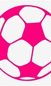 Download Hot Pink Soccer Ball Clip Art At Clkercom Vector ...