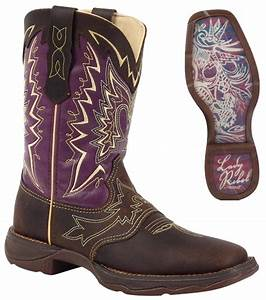 NEW Durango Women's Lady Rebel LET LOVE FLY Leather ...