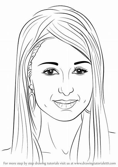 Draw Step Paris Hilton Drawing Famous Tutorials