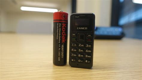 meet zanco tiny t1 the world s smallest phone priced at