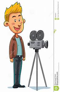 Cameraman stock vector Illustration of camera action
