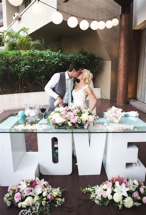 82 Best The Bride And Groom Table Images On Pinterest