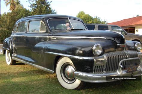 Sedan Limousine by 1948 Desoto Custom Series Lwb 8 Passenger Sedan Limousine