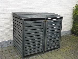 Mülltonnenbox Holz Anthrazit : m lltonnenbox unterstand kollektion ideen garten design als inspiration mit beispielen von ~ Whattoseeinmadrid.com Haus und Dekorationen
