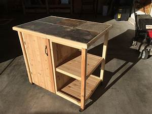 BBQ cart - by Wyo7200 @ LumberJocks com ~ woodworking