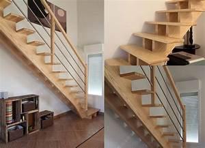 Escalier 3 4 Tournant : escalier 1 4 tournant sans contremarches mb escaliers ~ Dailycaller-alerts.com Idées de Décoration