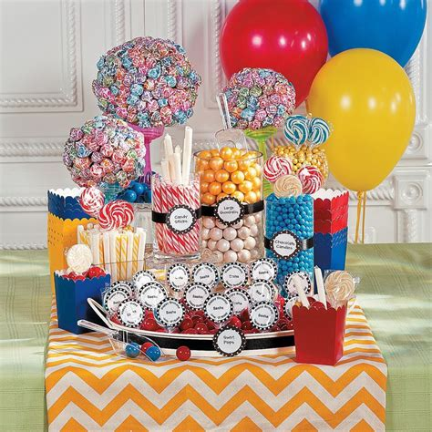 birthday party candy buffet orientaltradingcom