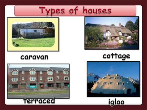 what are the names of the two houses of congress types of houses powerpoint