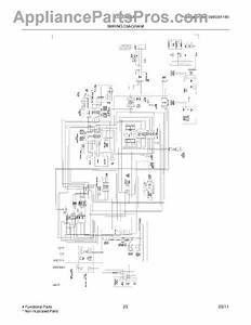 Parts For Frigidaire Lgus2642lf1  Wiring Diagram Parts
