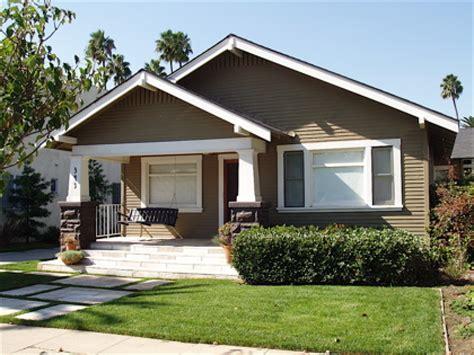 california craftsman bungalow style homes craftsman
