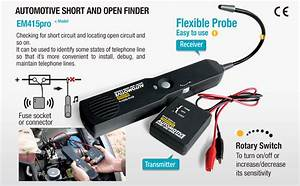 Allsun Pro Automotive Short And Open Finder Circuit Tester