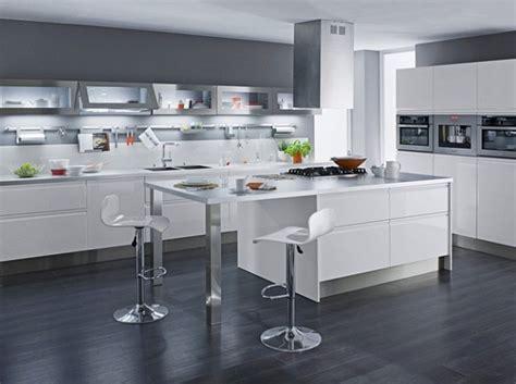 cuisine blanc laque pas cher d 233 co cuisine blanc laque