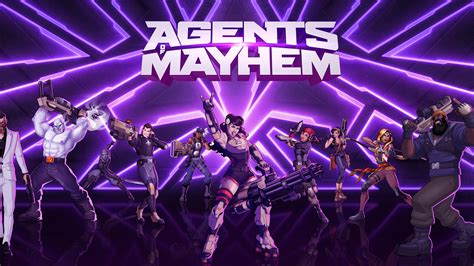 Agents of Mayhem (Game) | 8 Wallpapers
