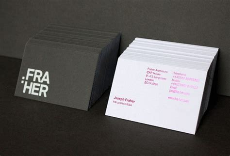 40 Architects' Business Cards For Delivering Your Message