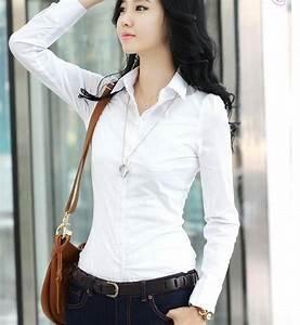 Faldas de moda Las blusas más elegantes para oficina 2