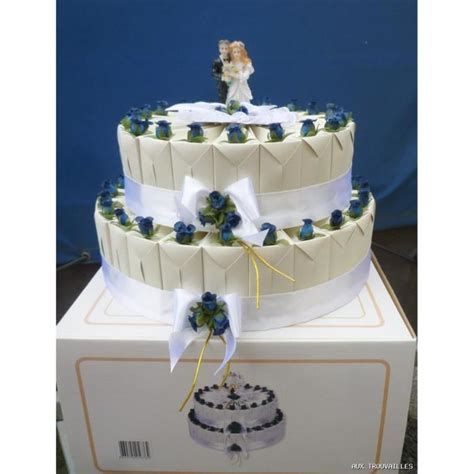decoration de boite de gateaux 45 boites a dragees forme gateau pour mariage achat vente bo 238 te 224 drag 233 es r 233 sine tissu
