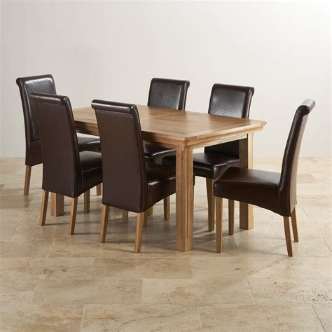 dining table and 6 chairs canterbury extending dining table 6 leather chairs