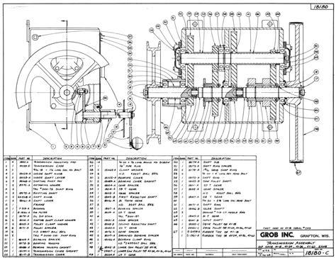 assembly drawing lathe machine