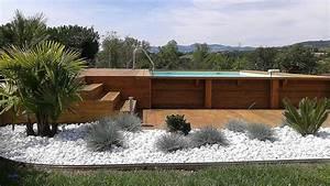 Bois Pour Terrasse Piscine : luxe lampadaire design pour amenagement terrasse bois ~ Edinachiropracticcenter.com Idées de Décoration
