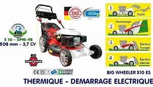 Tondeuse Electrique Autotractée : tondeuse thermique d marrage lectrique 508 mm toute la ~ Melissatoandfro.com Idées de Décoration