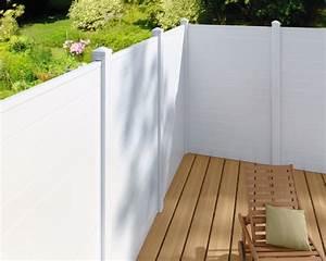 Cloture Composite Brico Depot : cloture pvc en kit brico depot ~ Nature-et-papiers.com Idées de Décoration
