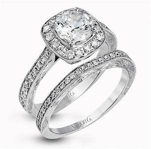 Simon g engagement ring styles for every bride wedding for Wedding and engagement ring set