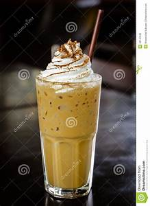 Iced Coffee With Whipped Cream Stock Image - Image: 40747043