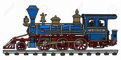 Steam Train Locomotive Drawing American Engine Clipart