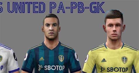 ultigamerz: PES 6 Leeds United 2020-21 Kits