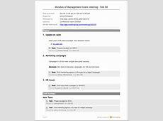 Sharing and emailing agenda & minutes MeetingKing iPad 1