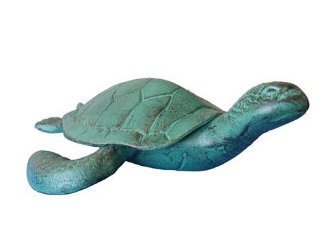 turtle decorations buy seaworn aluminum turtle 12 inch sea decorations for