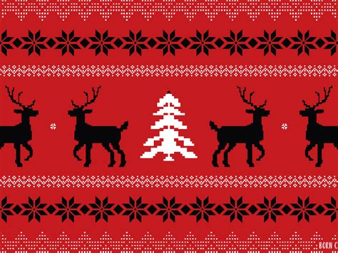 ugly sweater wallpaper  michelle gray dribbble
