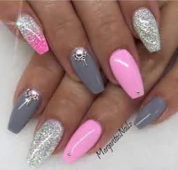 Trendy nail art ideas for coffin nails more