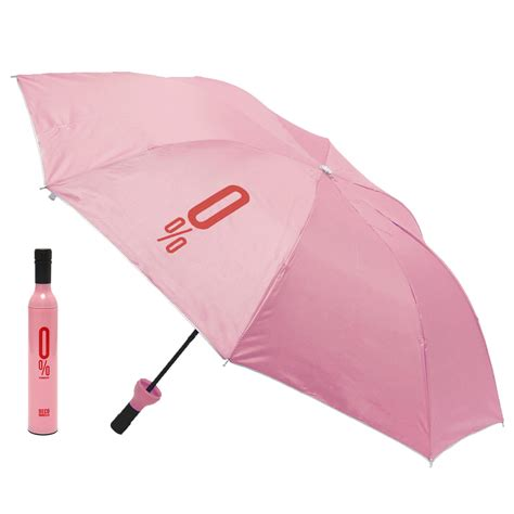 compact automatic umbrella fashion wine bottle folding anti uv parasol sun gear at banggood