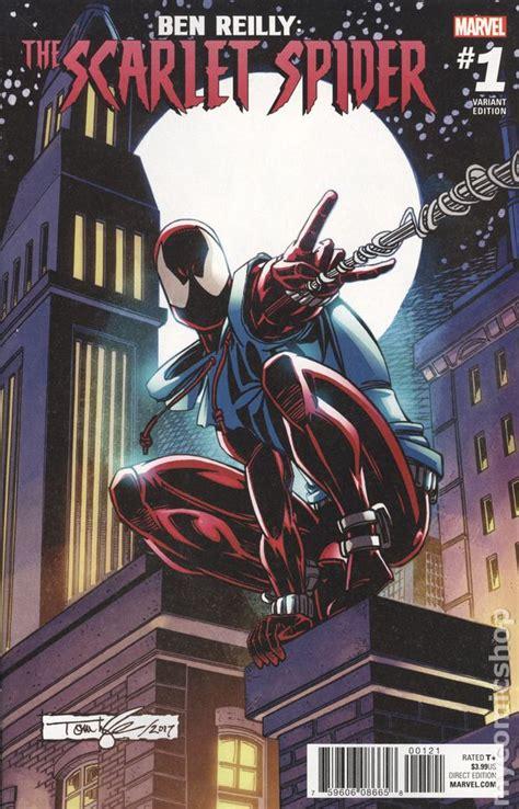 ben reilly scarlet spider  comic books