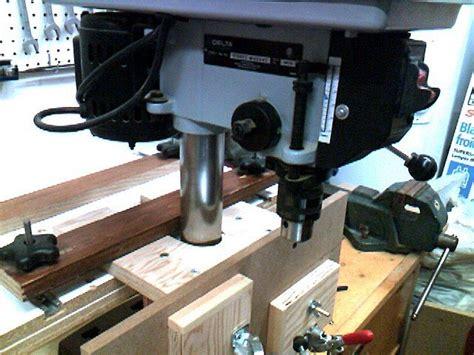convert  bench drill press  router forums