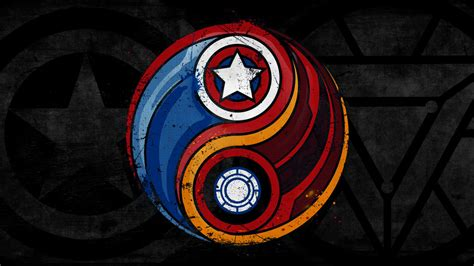 Cool Yin Yang Pictures Marvel 39 S Civil War Wallpaper By Riptide11 On Deviantart
