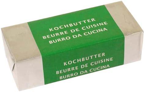 beurre de cuisine beurre de cuisine migros 100g gt calories 742 kcal