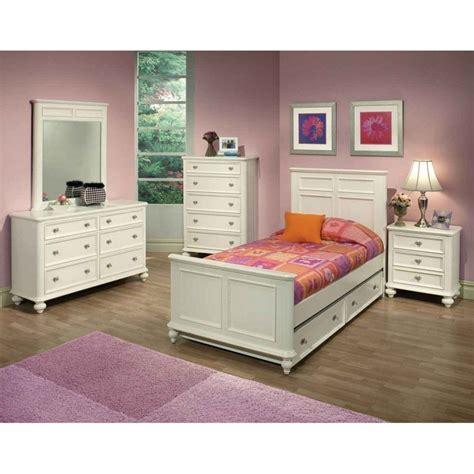 White Girls Bedroom Furniture Collections  Bedroom Design