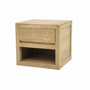 Petit Meuble Bas : petit meuble bas cologique bois clair ~ Teatrodelosmanantiales.com Idées de Décoration