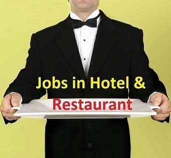 jobs  hotel restaurant part