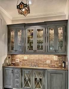 25 best ideas about brick wallpaper on pinterest wall With best brand of paint for kitchen cabinets with how to use stickers in imessage