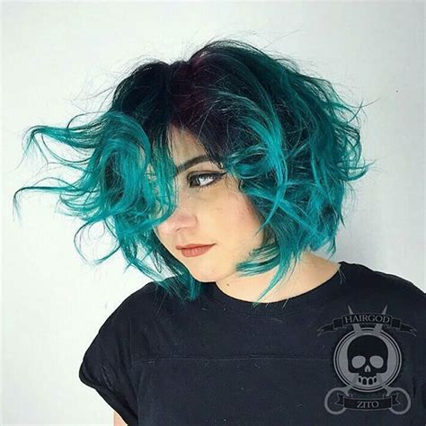 ombre for short hair with 100 different type of