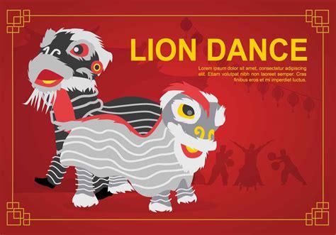lion dance illustration   vectors