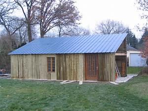 Tole Bardage Pas Cher : construction d un hangar en bois x 10m construction ~ Premium-room.com Idées de Décoration