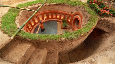 Underground House by Build Most Awesome Underground Swimming Pool And