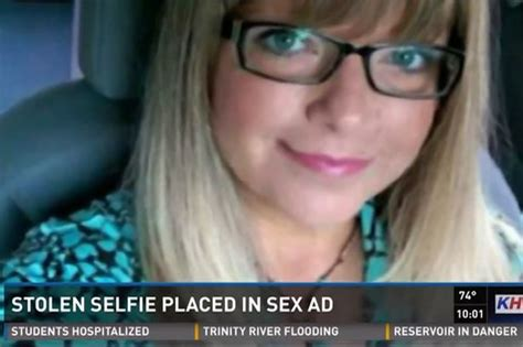 Tammie Veach Stolen Selfie Placed In Sex Ad Leads To Mom
