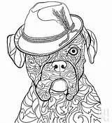Coloring Boxer Pages Dog Dogs Pet Puppy Sheets Printable Adult Sheet Drawing Bhg Relax Help Boxers Young Leave Cats Animal sketch template
