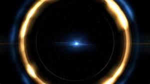 60fps Threads Of Light Shining Halo Circlular Border