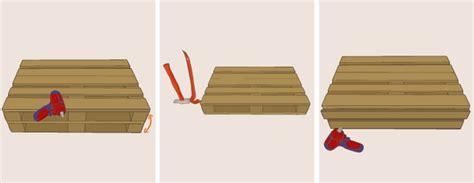 faire un canapé en palette fabriquer un canapé en palette canapé
